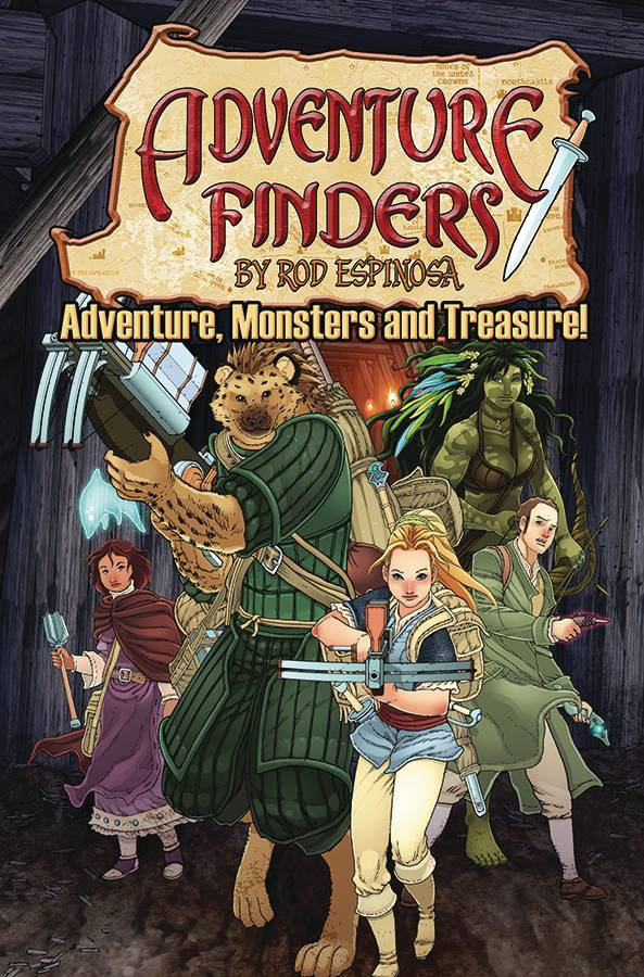 ADVENTURE FINDERS ADVENTURE MONSTERS & TREASURE TP