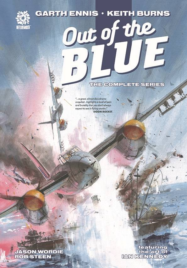 OUT OF THE BLUE COMPLETE HC