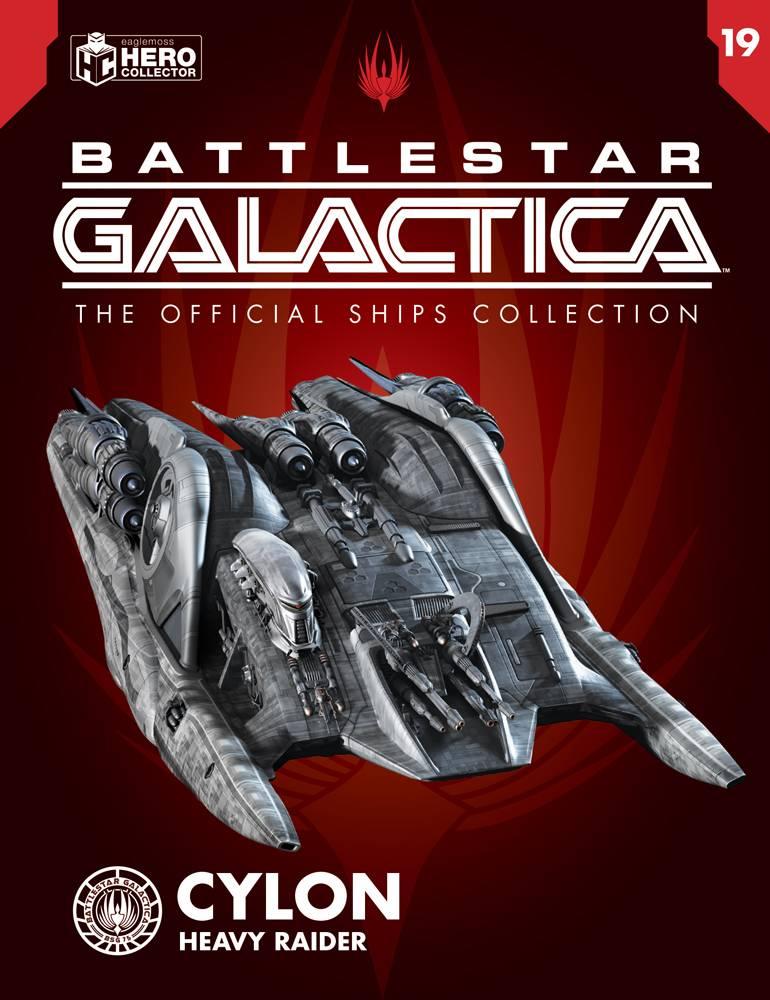 BATTLESTAR GALACTICA SHIPS MAG