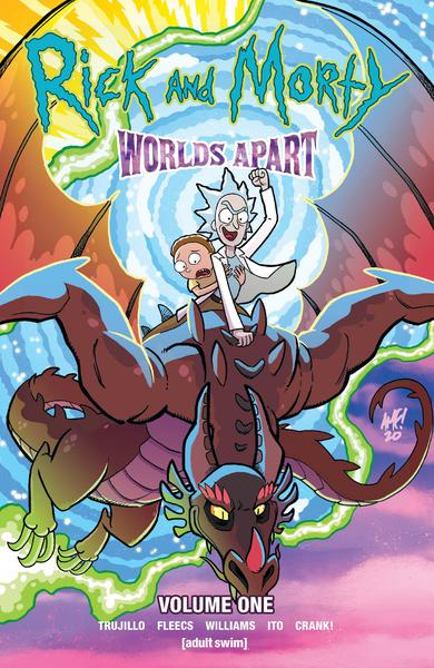 RICK & MORTY WORLDS APART TP