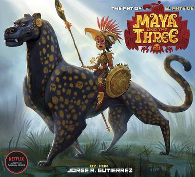 ART OF MAYA AND THE THREE HC 01