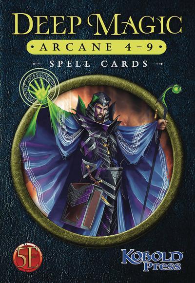 DEEP MAGIC SPELL CARDS ARCANE 4-9