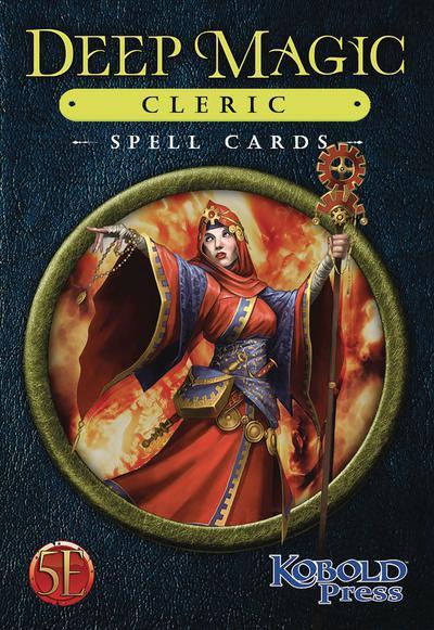 DEEP MAGIC SPELL CARDS CLERIC