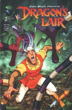 DRAGONS LAIR SINGES REVENGE