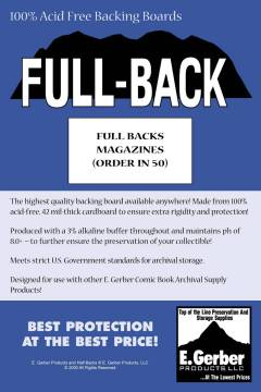BACKING BOARDS FULL BACKS MAGAZINE