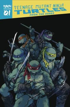TMNT REBORN TP 01 FROM THE ASHES