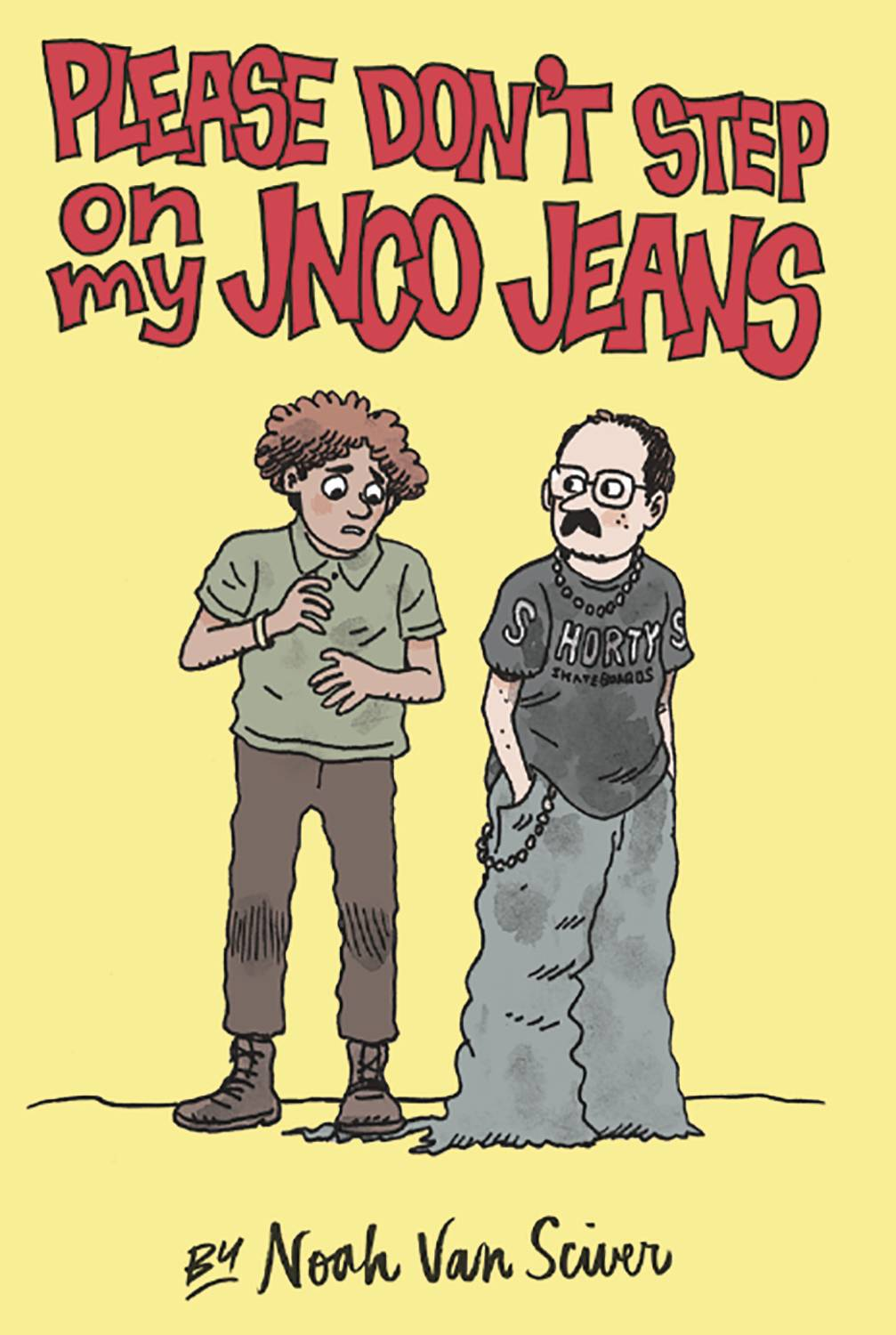 PLEASE DONT STEP ON MY JNCO JEANS TP