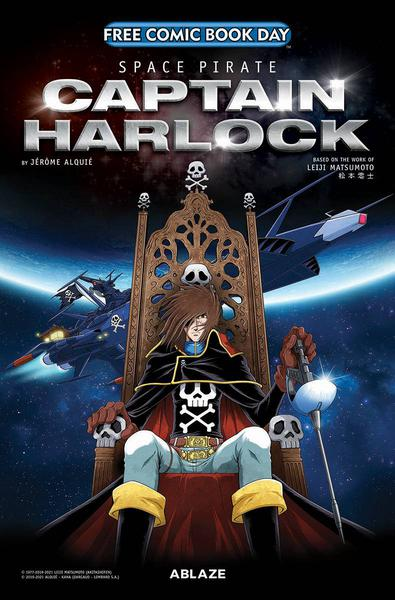 FCBD 2021 SPACE PIRATE CAPTAIN HARLOCK