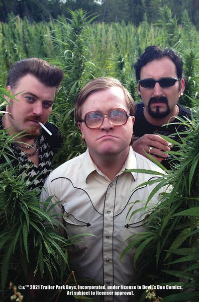 TRAILER PARK BOYS GET A F#ING COMIC BOOK