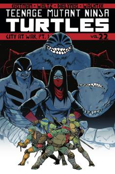 TMNT ONGOING TP 22 CITY AT WAR PT 1