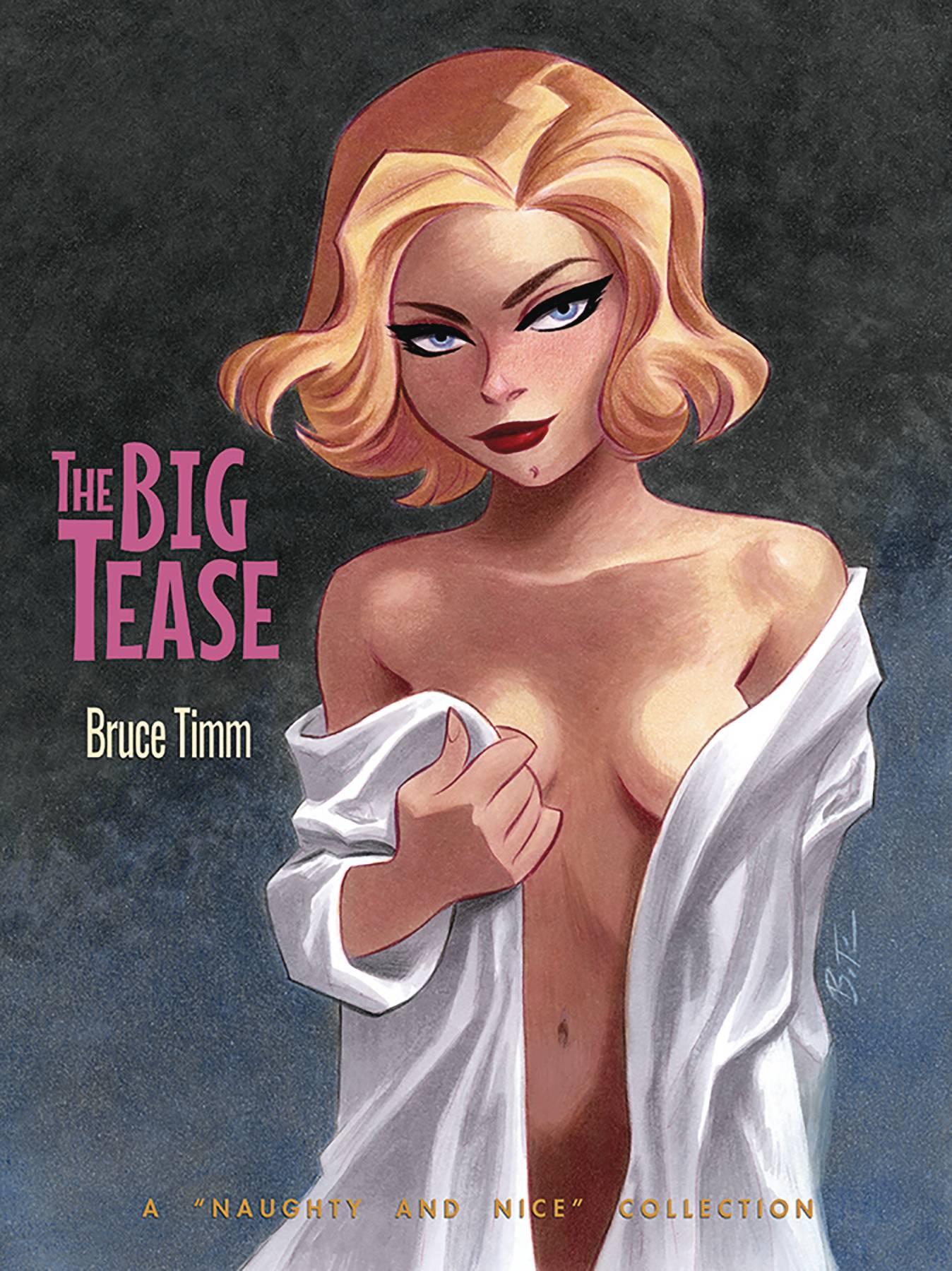 BIG TEASE ART OF BRUCE TIMM SC