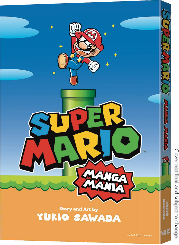 SUPER MARIO BROS MANGA MANIA GN