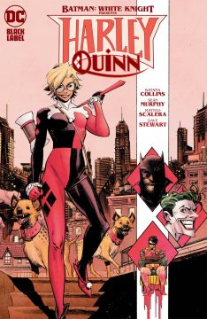 BATMAN WHITE KNIGHT PRESENTS HARLEY QUINN