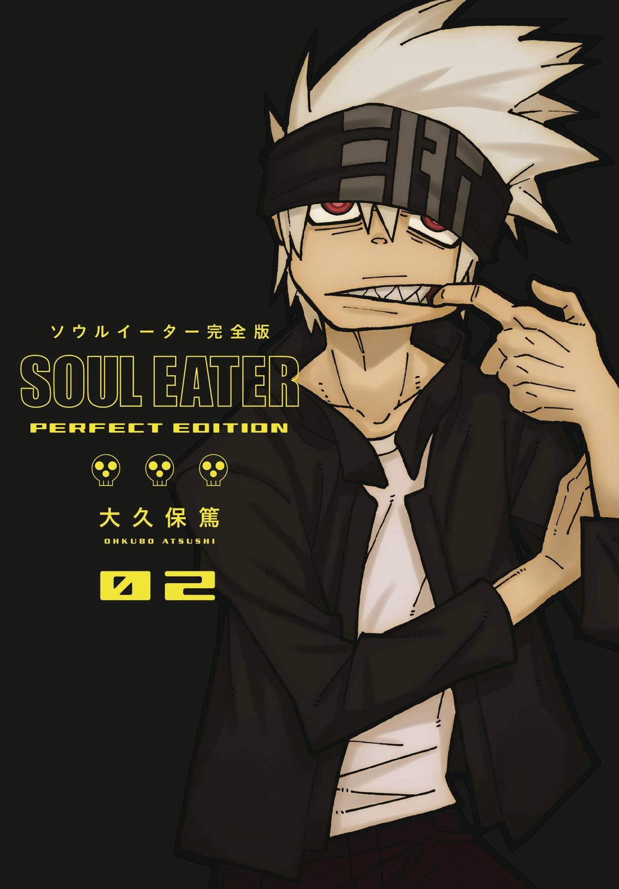 SOUL EATER PERFECT EDITION HC GN 02