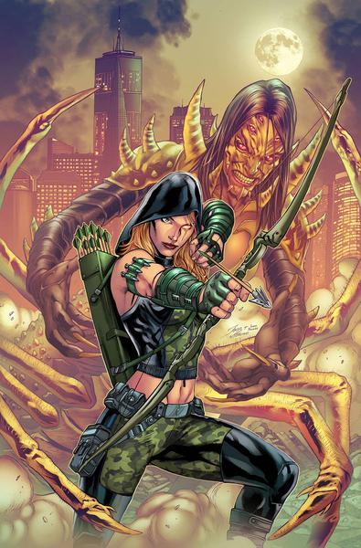 ROBYN HOOD CULT OF THE SPIDER ONE SHOT