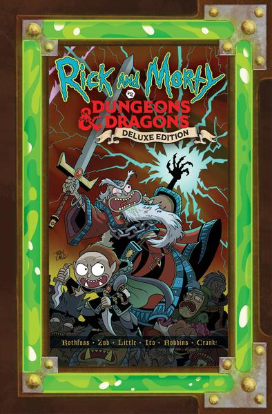 RICK AND MORTY VS DUNGEONS & DRAGONS HC