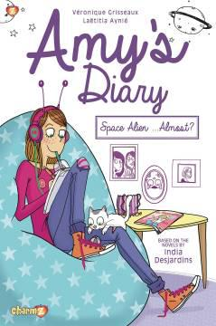 AMYS DIARY HC 01 SPACE ALIEN ALMOST