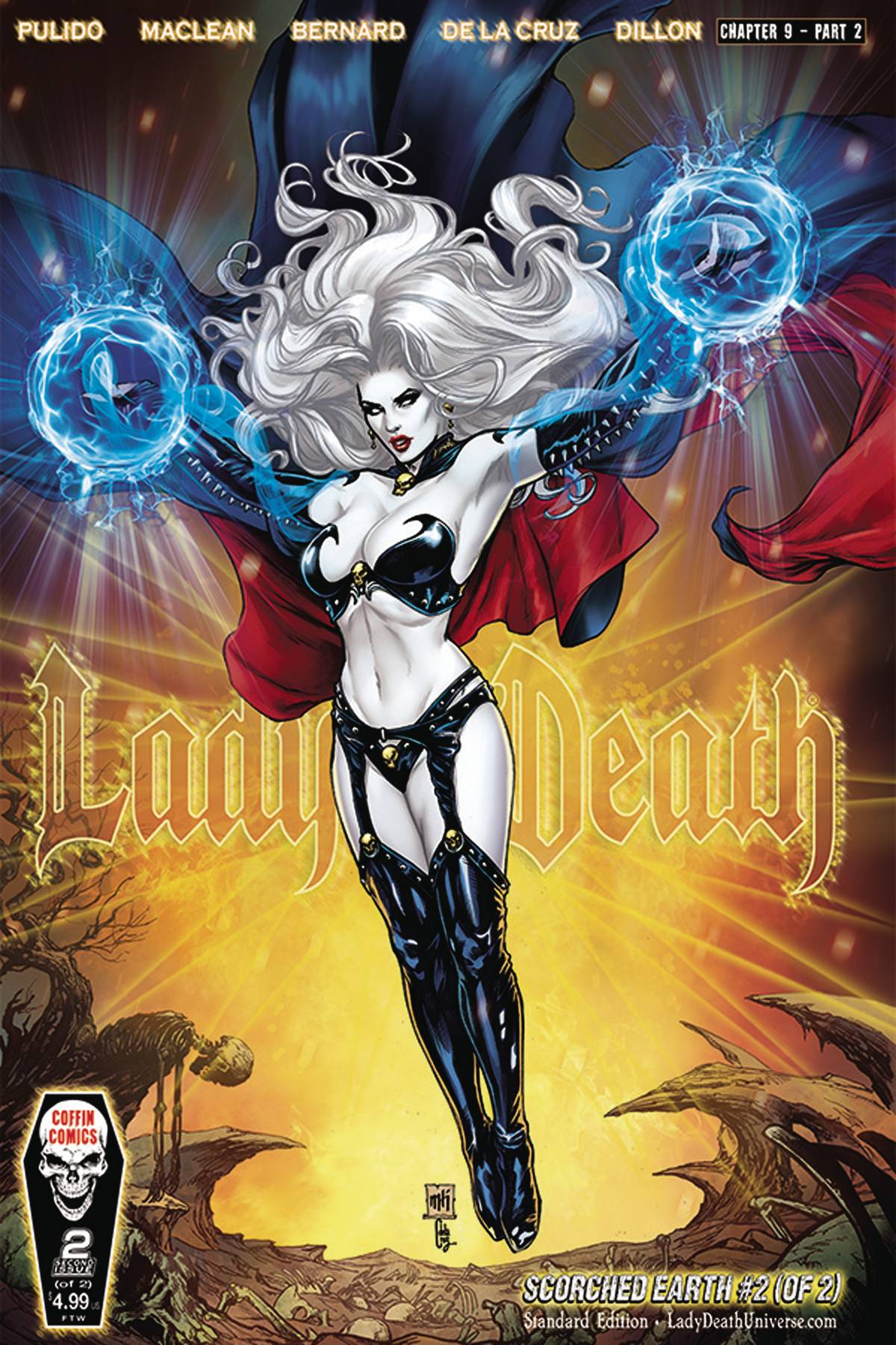 LADY DEATH SCORCHED EARTH