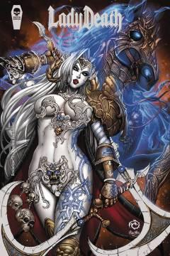 LADY DEATH REVELATIONS ILLUSTRATED FOIL PREMIUM ED