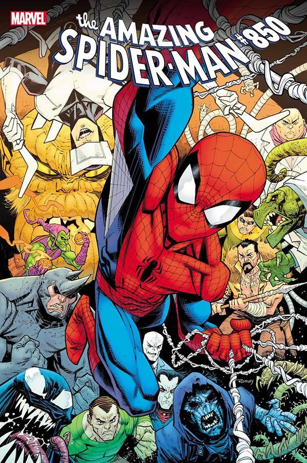 AMAZING SPIDER-MAN #850 SPENCER SGN PLUS 1