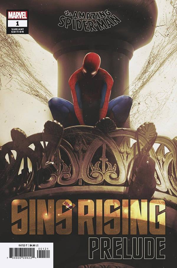 AMAZING SPIDER-MAN SINS RISING PRELUDE #1 CGC GRADED