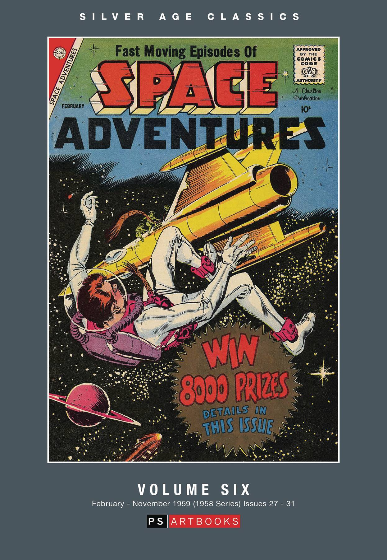 SILVER AGE CLASSICS SPACE ADVENTURES HC 06