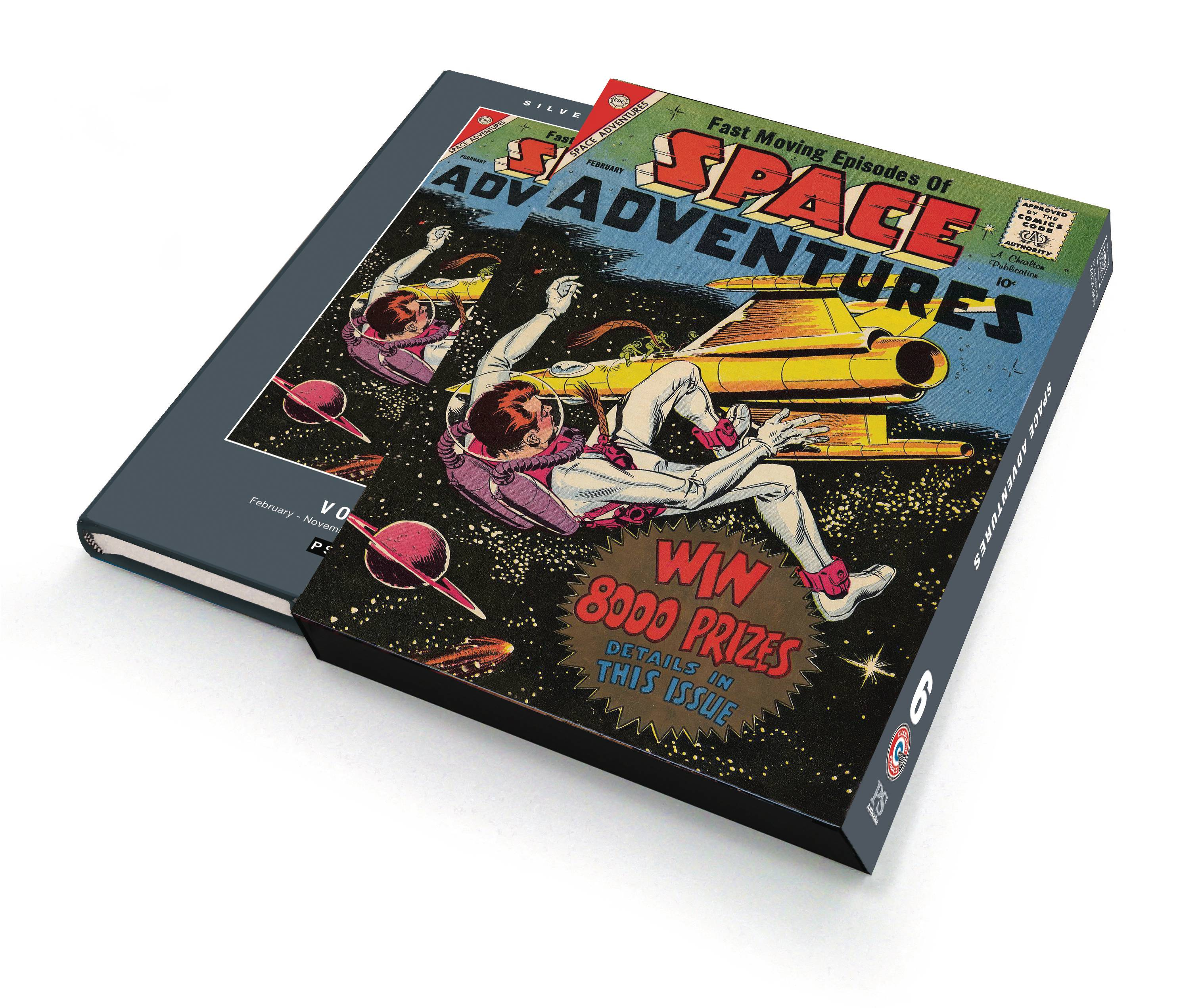 SILVER AGE CLASSICS SPACE ADVENTURES HC 06 SLIPCASE ED