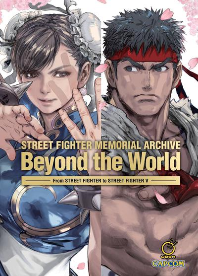 STREET FIGHTER MEMORIAL ARCHIVE BEYOND THE WORLD HC
