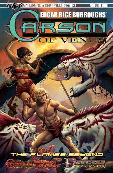 CARSON OF VENUS TP 01 FLAMES BEYOND & OTHER TALES