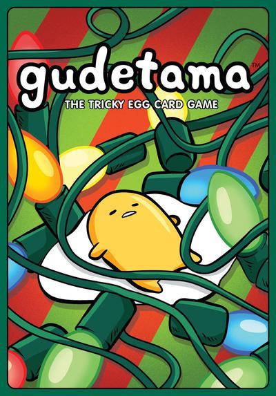 GUDETAMA TRICKY EGG CARD GAME HOLIDAY ED