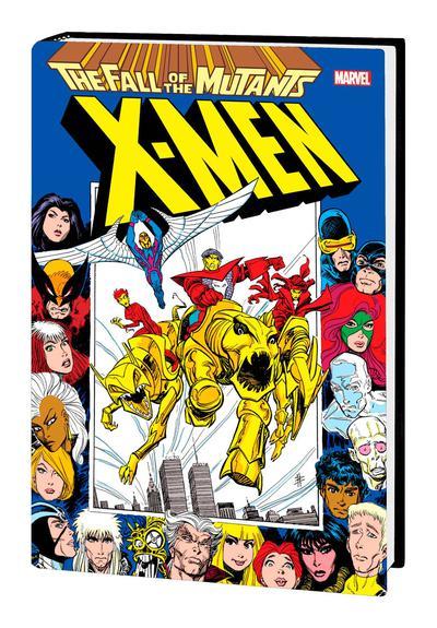 X-MEN FALL OF MUTANTS OMNIBUS HC