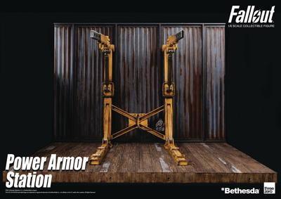 FALLOUT T-45 1/6 SCALE POWER ARMOR STATION