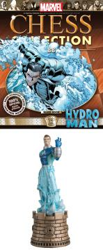 MARVEL CHESS FIG COLL MAG #88 HYDROMAN BLACK ROOK