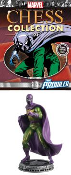 MARVEL CHESS FIG COLL MAG #91 PROWLER WHITE PAWN