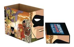 DC COMICS NEW FRONTIER 5PK SHORT COMIC STORAGE BOX