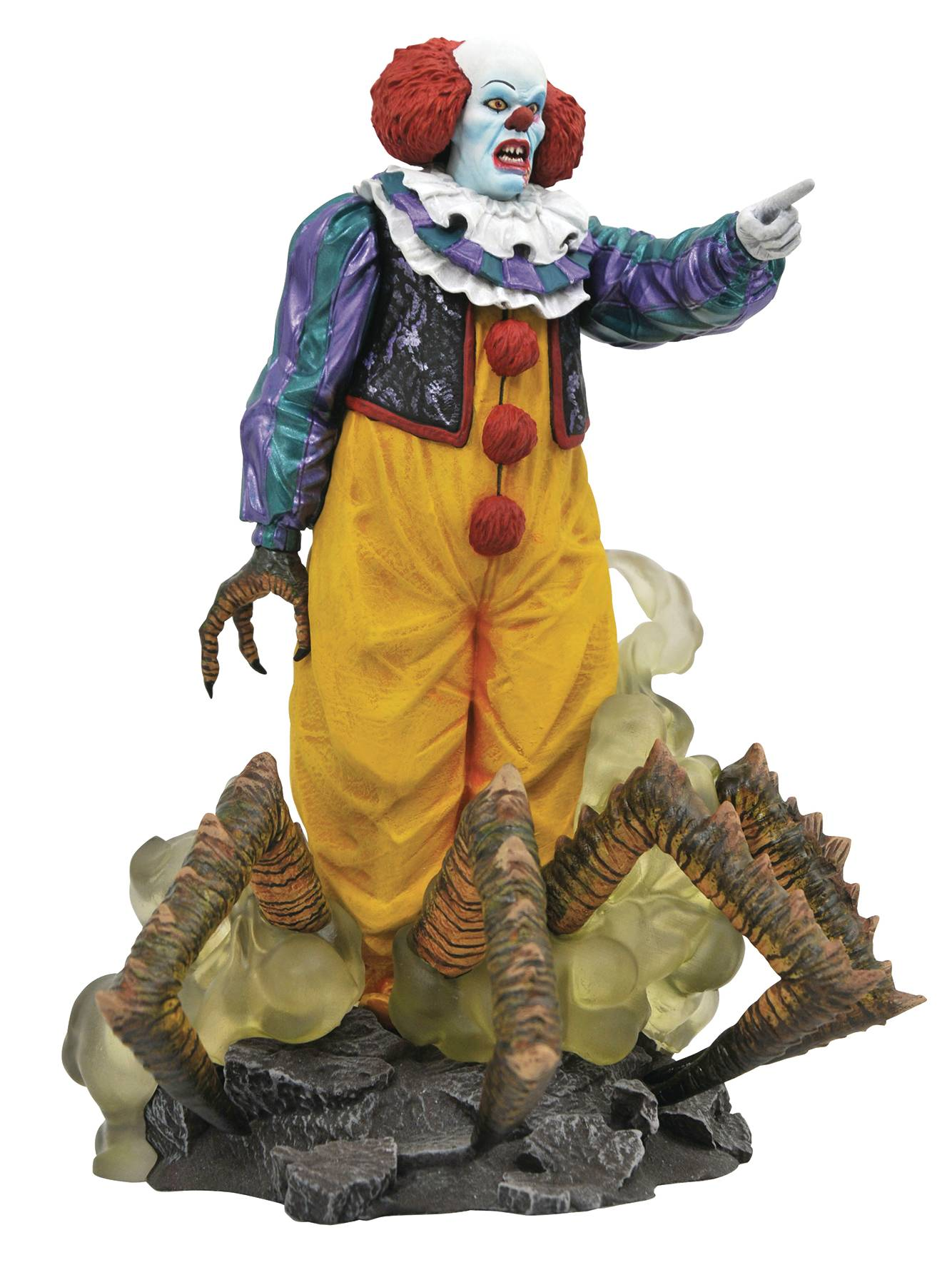 IT 1990 GALLERY PENNYWISE PVC STATUE