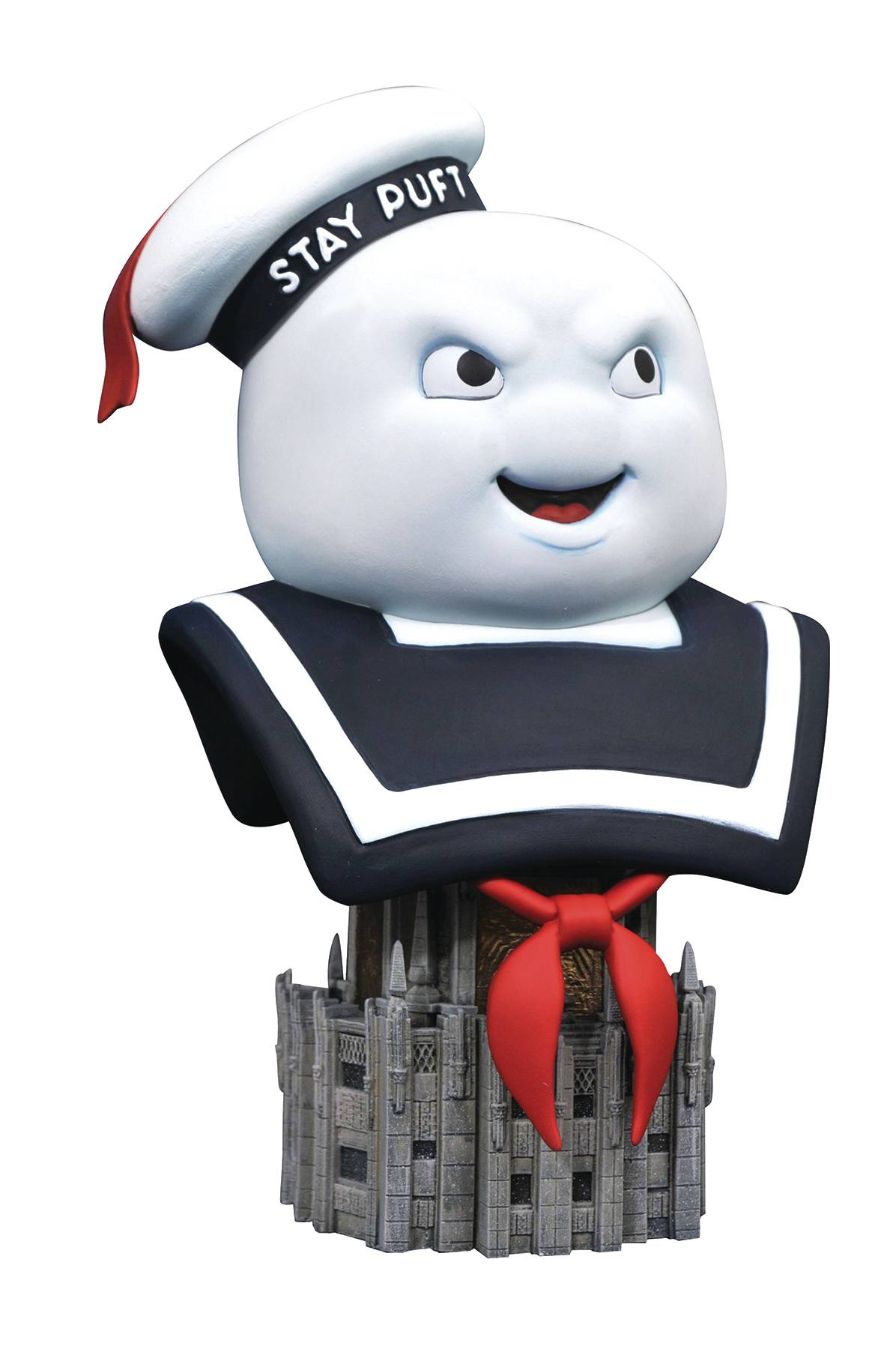 GHOSTBUSTERS LEGENDS IN 3D STAY PUFF 1/2 SCALE BUST