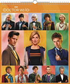 DOCTOR WHO SPECIAL ED 2021 WALL CALENDAR