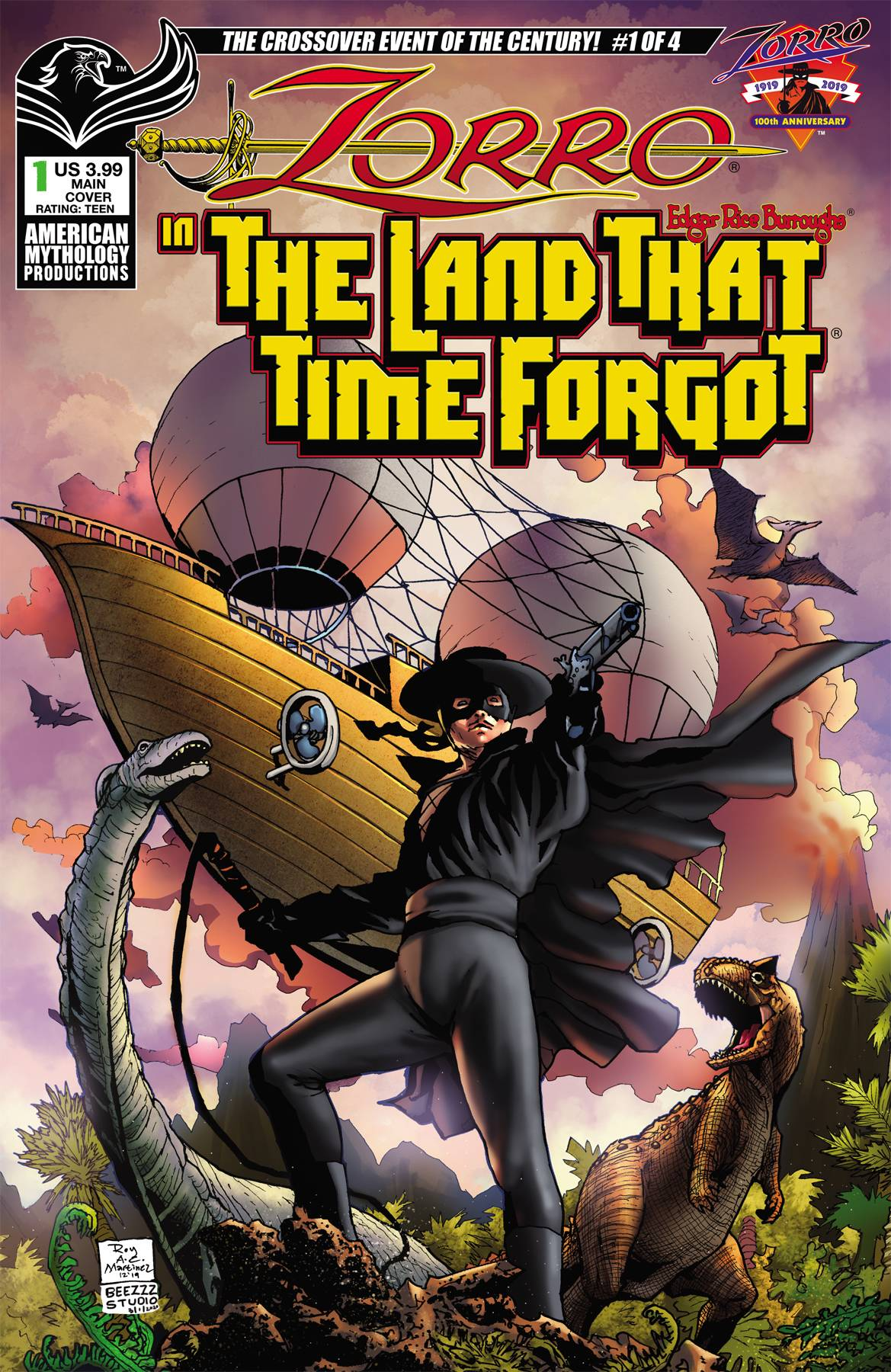 ZORRO IN LAND THAT TIME FORGOT