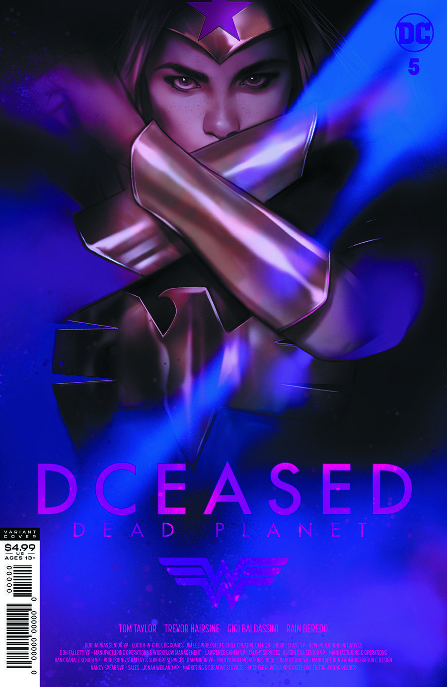 DCEASED DEAD PLANET