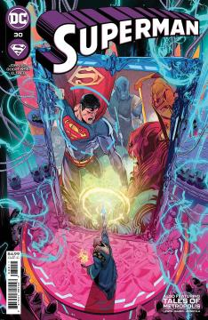 DF SUPERMAN #30 JOHNSON SGN