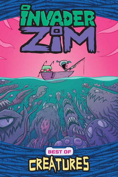 INVADER ZIM BEST OF CREATURES TP 01
