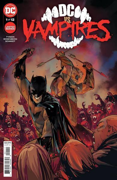 DF DC VS VAMPIRE #1 ELITE TYNION GOLD SGN