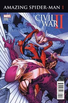 CIVIL WAR II AMAZING SPIDER-MAN