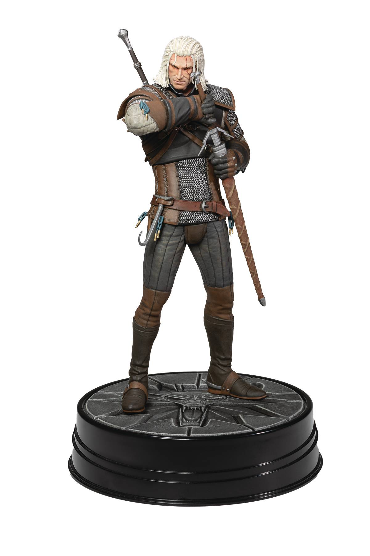 WITCHER 3 WILD HUNT GERALT HEART OF STONE FIGURE