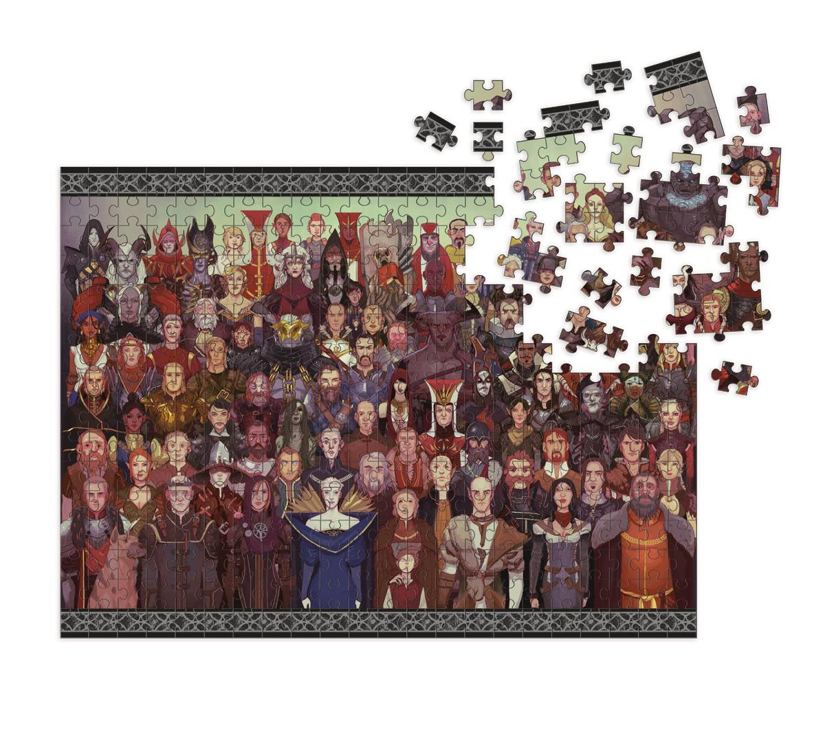DRAGON AGE CAST OF THOUSANDS 1000 PC DLX PUZZLE