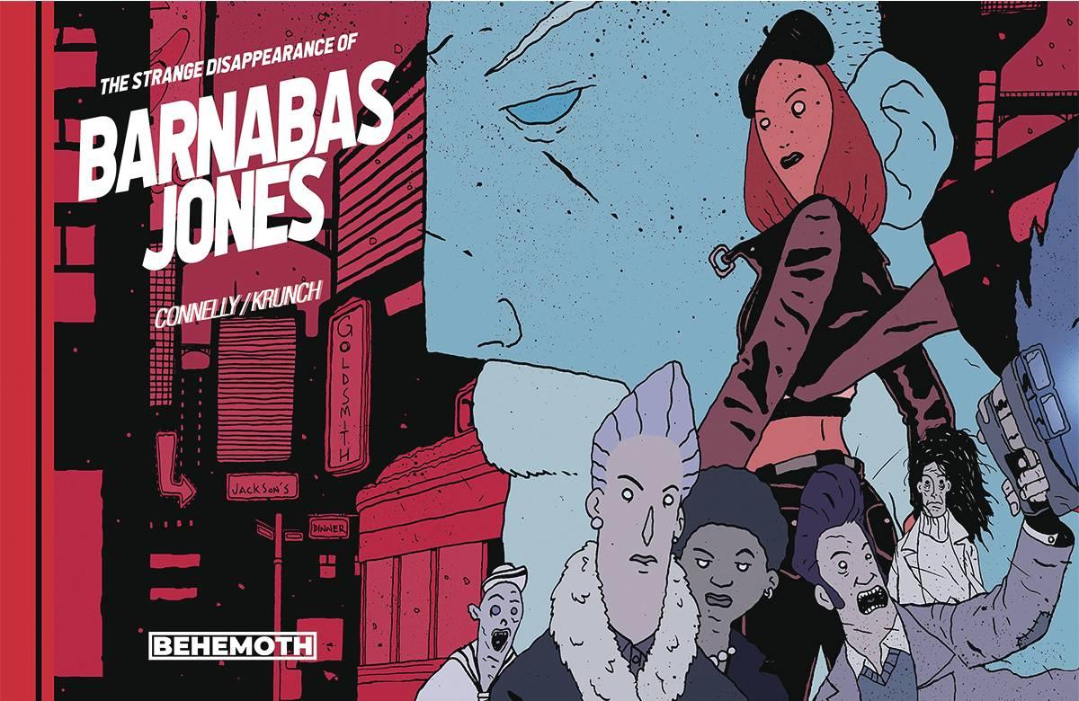 STRANGE DISAPPEARANCE OF BARNABAS JONES TP