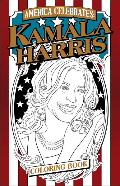 KAMALA HARRIS COLORING BOOK