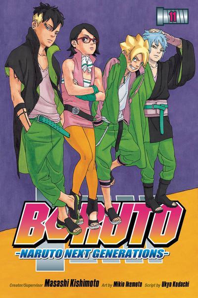 BORUTO GN 11 NARUTO NEXT GENERATIONS