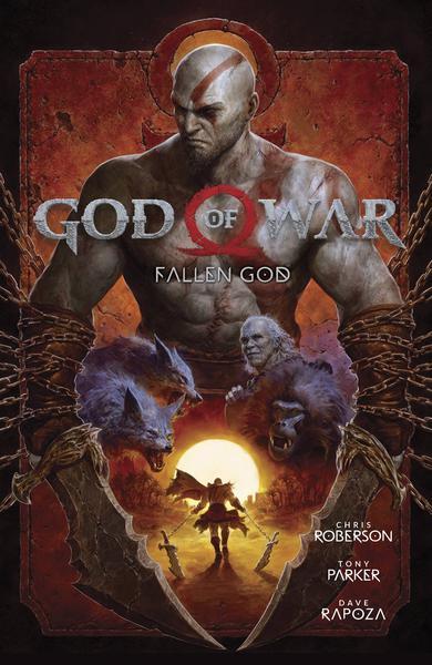 GOD OF WAR FALLEN GOD TP 01